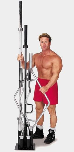Тренажер Body-Solid GOBH-5 Подставка для олимпийских грифов замок body solid для олимпийского грифа kbc хром 50 мм