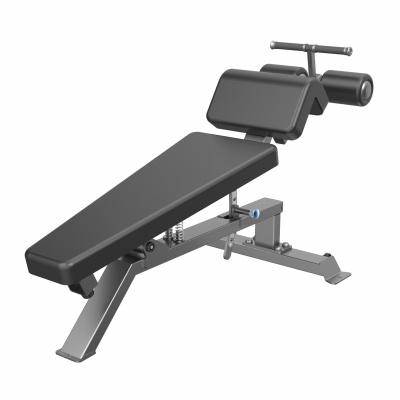 Тренажер DHZ FITNESS Скамья для пресса регулируемая (Adjustable Decline Bench) A-3037