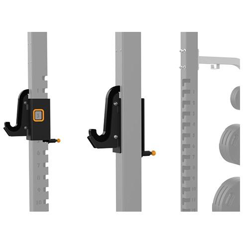 Тренажер Matrix MAGNUM OPT1R Крюки для олимпийского грифа для силовой рамы замок body solid для олимпийского грифа kbc хром 50 мм