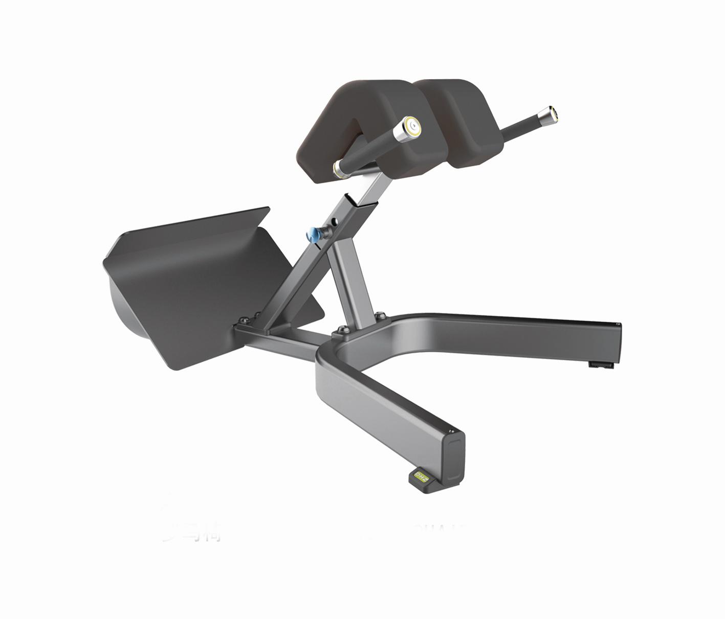 Тренажер GROME Fitness AXD5045A Гиперэкстензия регулируемая. Угол наклона - 45 градусов.