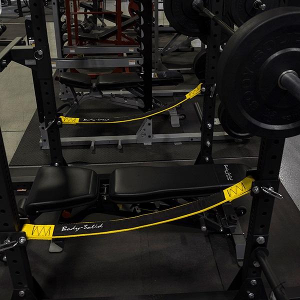 Тренажер Body-Solid Захваты для грифа дополнительные для рамы SPR1000 замок body solid для олимпийского грифа kbc хром 50 мм