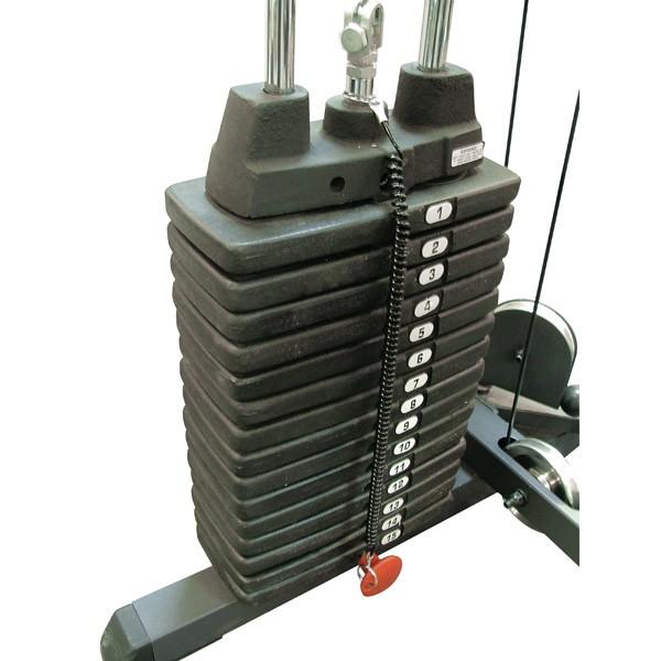 Тренажер Body-Solid Весовой стек SP200, 90кг (20 плашек)
