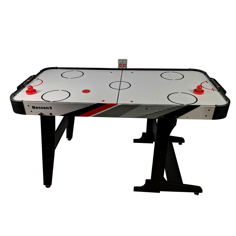 Фото - DFC Игровой стол - аэрохоккей DFC Boston2 складной 54 dfc игровой стол аэрохоккей dfc cobra
