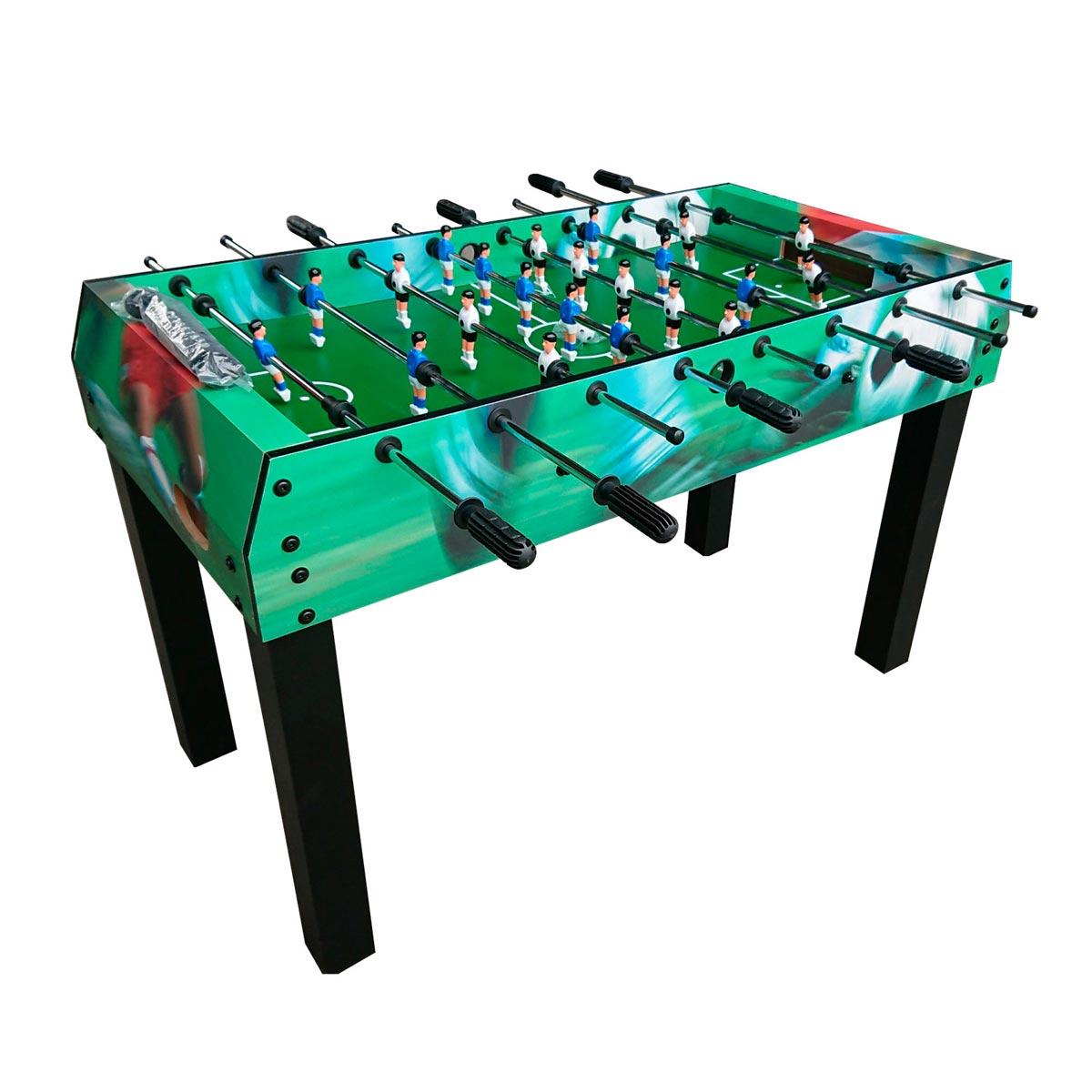 Фото - DFC Игровой стол - футбол DFC SEVILLA II цветн. борт настольный футбол dfc juventus hm st 55601